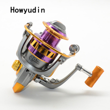 12+1BB 1000-7000 spinning reel Left/Right hand molinete para pesca Gear ratio 5.5: 1 fishing reel Aluminum Wire Cup fishing reel
