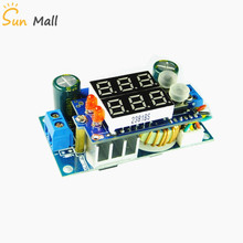 5A MPPT Solar Panel Controller DC-DC Step-down CC/CV Charging Module Double LED Display Regulator Controllers