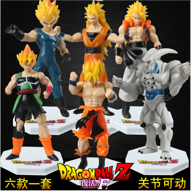 2017 new 6pcslot dragon ball z kids toy action figures model toy dbz dragonball - Dbz