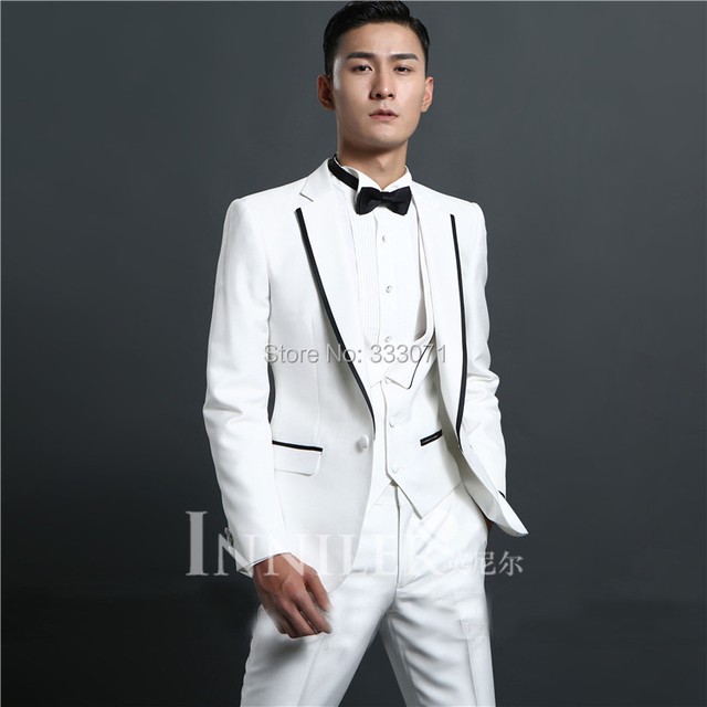 NEW / customize Ball Gowns High Quality groom Suit wedding dress ...