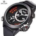 MEGIR Official Double Display Man Quartz Watch Luxury Men's Top Brand Military Quartz Watches Relogio Masculino Watches