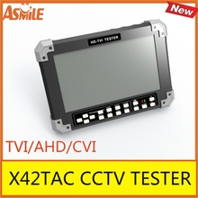 7inch TFT LCD X42TAC TVI/AHD/CVI CCTV TESTER from asmile