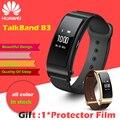 Huawei TalkBand B3 B3 Banda Conversa Do Bluetooth Pulseira Inteligente Ginástica Wearable Pulseiras de Esportes inteligente Compatível Dispositivo de Telefone Móvel