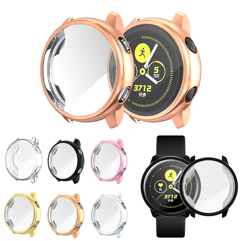 Screen Protector Case For Samsung Galaxy Watch Active All-Around Ultra-thin Soft Silicone Protection Cover For Galaxy Active