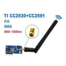 ZigBee преобразования последовательный порт ttl uart беспроводной PA Модуль CC2530+ CC2591