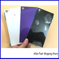 Original Rear Glass Back Battery Cover For Sony Xperia Z1 C6902 C6903  L39H L39 Rear Housing Case +LOGO