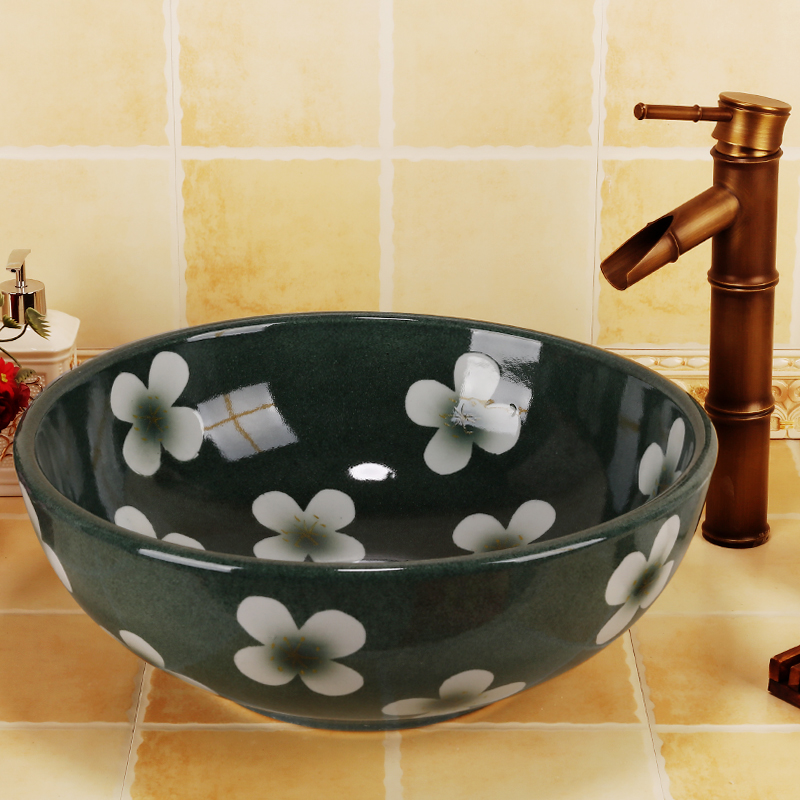 chinese hand painted flower high quanlity art bathroom basin for home and restaurant jennifer taylor home sofa bed hand tufted hand painted and hand rub finished wooden legs 65000 584 859 865