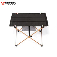 WFGOGO Outdoor Tables Camping Portable Aluminium Alloy Tables Waterproof Ultra Light Durable Folding Table Desk For