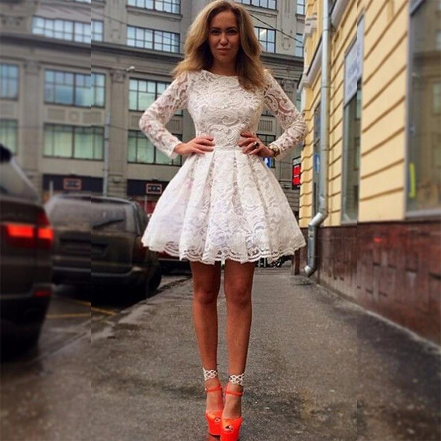 Long Sleeve Homecoming Dresses 2013