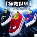 Venta al por menor de criança crianças primavera sapatos casuais novas sapatas de lona masculinos criança do sexo feminino calcados esportivos