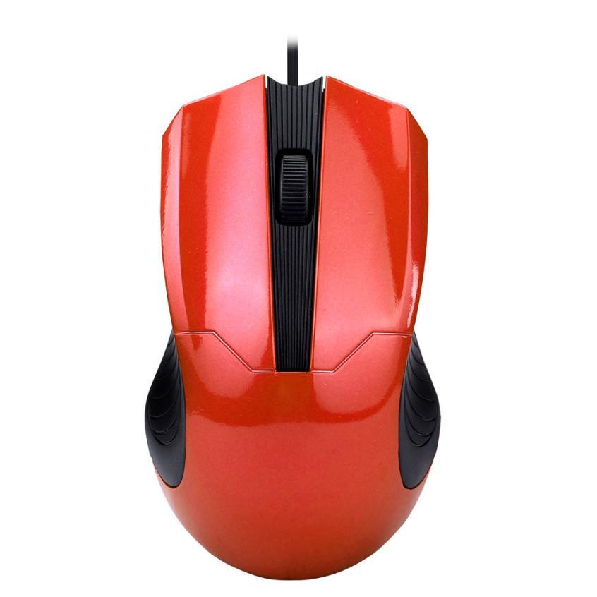 Новый Мышь Мода 1000 Точек на дюйм USB Проводная оптическая Мыши компьютерные Мышь для портативных ПК 51218 Прямая доставка