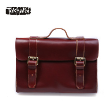 Tokharoi Brand Genuine Cow Leather Shoulder Bag High Quality Luxury Handbags Women Bags Designer Solid Hasp Pillow Casual Tote