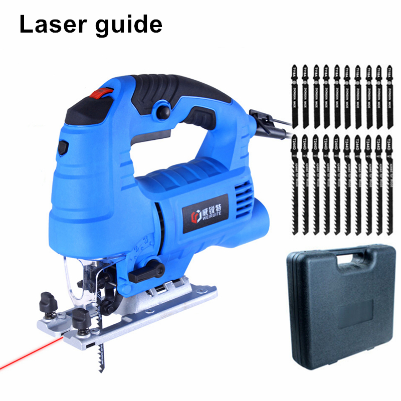 laser guide electric curve saw plus 20pcs blade household electric woodworking saw multi-function dust-free sawing machine cukyi household electric multi function cooker 220v stainless steel colorful stew cook steam machine 5 in 1