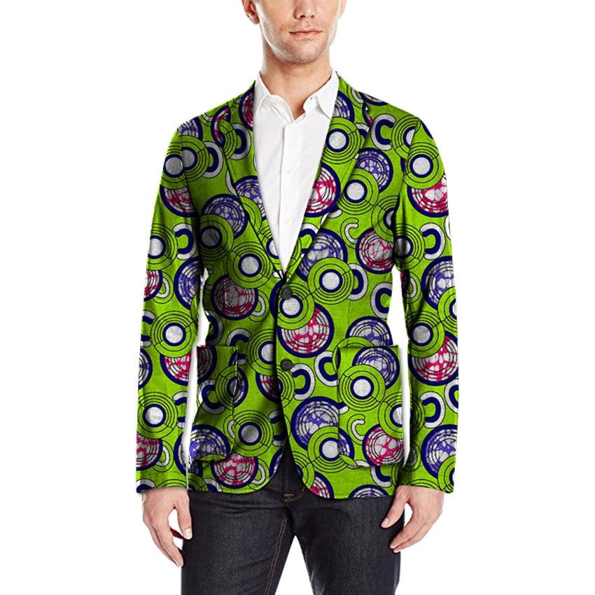Africa Style Dashiki Print Suit font b Jacket b font Men Blazers African Festive Man Blazer