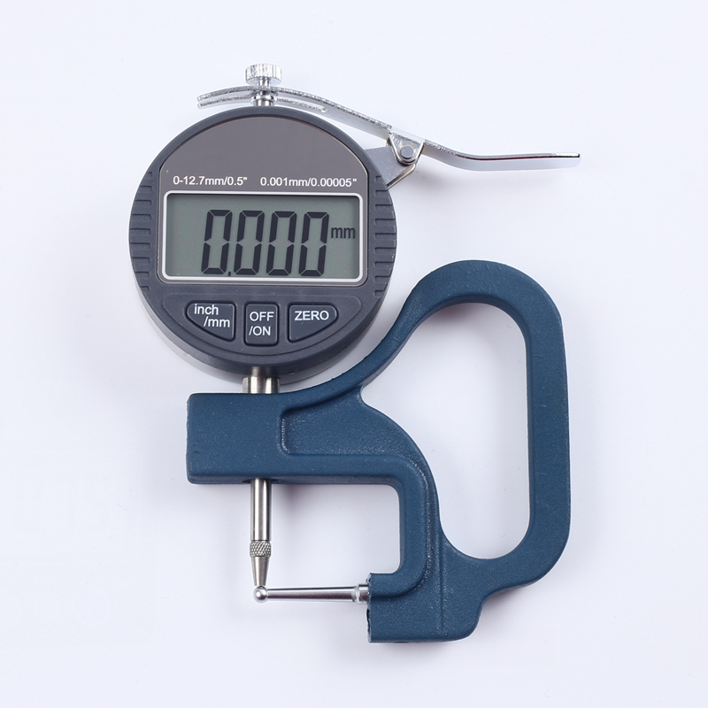 Plastic Measuring Tubes For Electronic Devices : Mm electronic tube thickness gauge digital