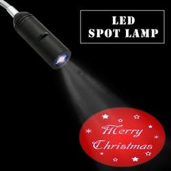 Customize Projection light Welcome Christmas Projection light 110V / 220V E27 logo Light Advertising lamps spotlight drop ship