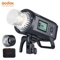 Actualización Godox AD600Pro Flash estroboscópico para exteriores 600Ws 2,4G inalámbrico X TTL GN87 1/8000 s de alta velocidad sincronizar Flash de potencia completa 360