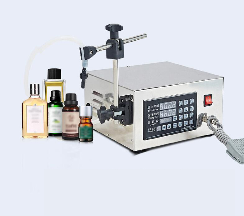 KC-280 4.5L CNC liquid quantitative filling machine 5ml-3500ml 110V/220V stainless steel liquid filling machine adjustable foot quantitative perfume filling machine cfk 160