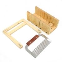 1pc Soap Mold Wood Lb Adjustable Cutter Loaf Bar Slicer Process Kit Handmade Slicer Set
