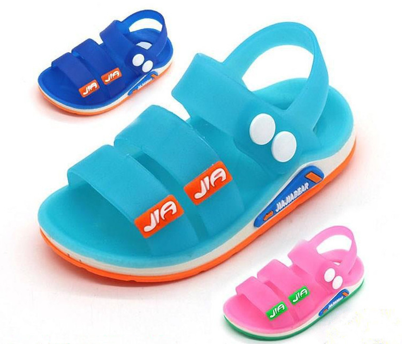 2019 Summer Casual Kids Sandals Toddler Boys Beach Shoes Soft Breathable Cool Comfortable Children Jelly Girls Sandals Slippers