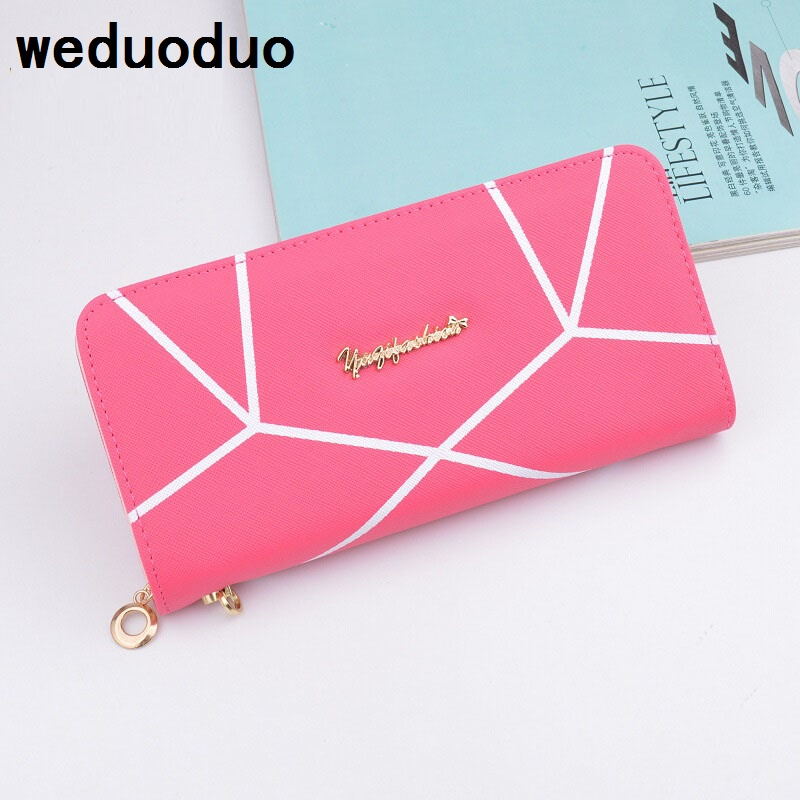 Fashion High Quality Women Wallets Big Capacity Clutch Purses Zipper Long Money Cases Card Holders Phone Position Coin Pockets