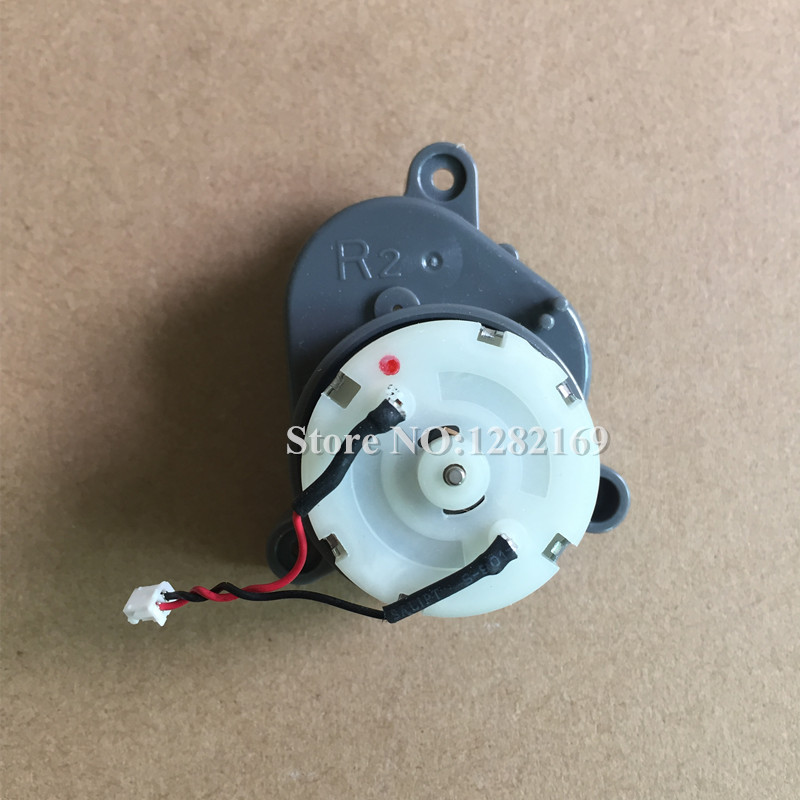 1 piece A4 Robot Right Side Brush Motor for ilife T4 A4 A6 x620 X430 X432 Robotic Vacuum Cleaner accessories side brush motors assembly for panda x500 vacuum cleaning robot including left motor assembly x1pc right motor assembly x1pc