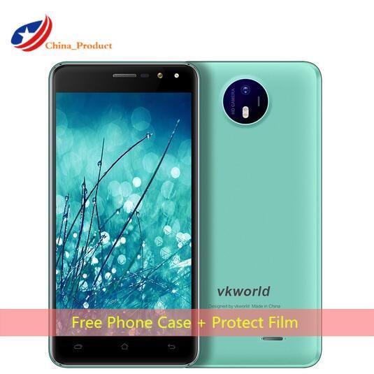 Vkworld F2 3G phone 5 0 HD IPS MT6580 Quad Core 5 inch Display 2GB RAM