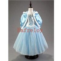 Girls Dress New Spring Summer Princess Dress Frozen Dress Skirt Dress Drag The Dress Party Dresses