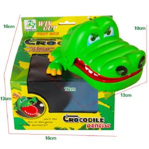 2019 Hot Sale Novelty Practical Toy Large Crocodile Mouth Dentist Biting Finger Jokes Toys Funny Family Games Gift For Children