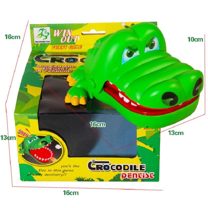 2019 venda quente novidade brinquedo prático grande boca de crocodilo dentista morder dedo piadas brinquedos engraçado jogos da família presente para crianças