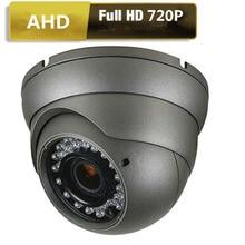 AHD аналоговый Высокое разрешение Камеры Скрытого видеонаблюдения 1/4 »CMOS 2000tvl 1.0mp 720 P AHD CCTV Камера безопасности Открытый ИК-фильтр