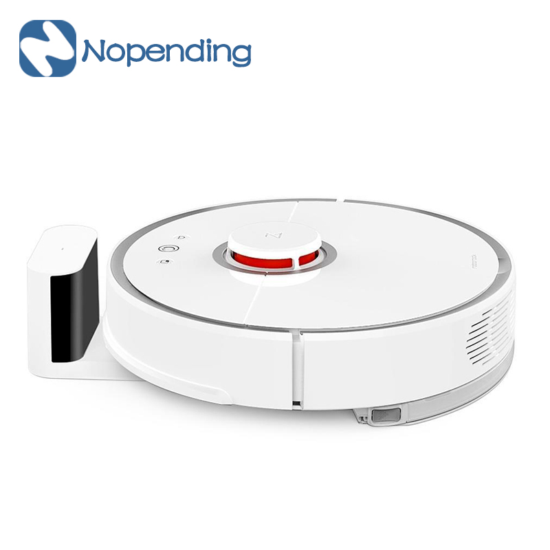 [International Version] New Original Xiaomi Mi Robot Vacuum Cleaner Mijia Roborock 2nd Automatic Cleaning Robot 2 Smart Control