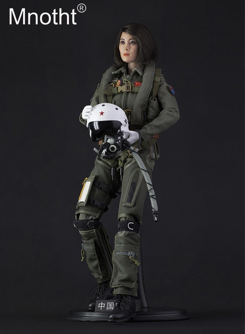 1/6 масштаб китайский женский пилот фигурку Box Set модель игрушки FS 73006 с головой/тела спасательный жилет/кожаные туфли /перчатки/шлем