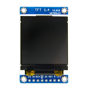 "Image 2 - ESP8266 TFT 1.4 מגן V1.0.0 תצוגת מסך מודול עבור D1 מיני 1.44 ""אינץ 128X128 SPI LCD ST7735S"