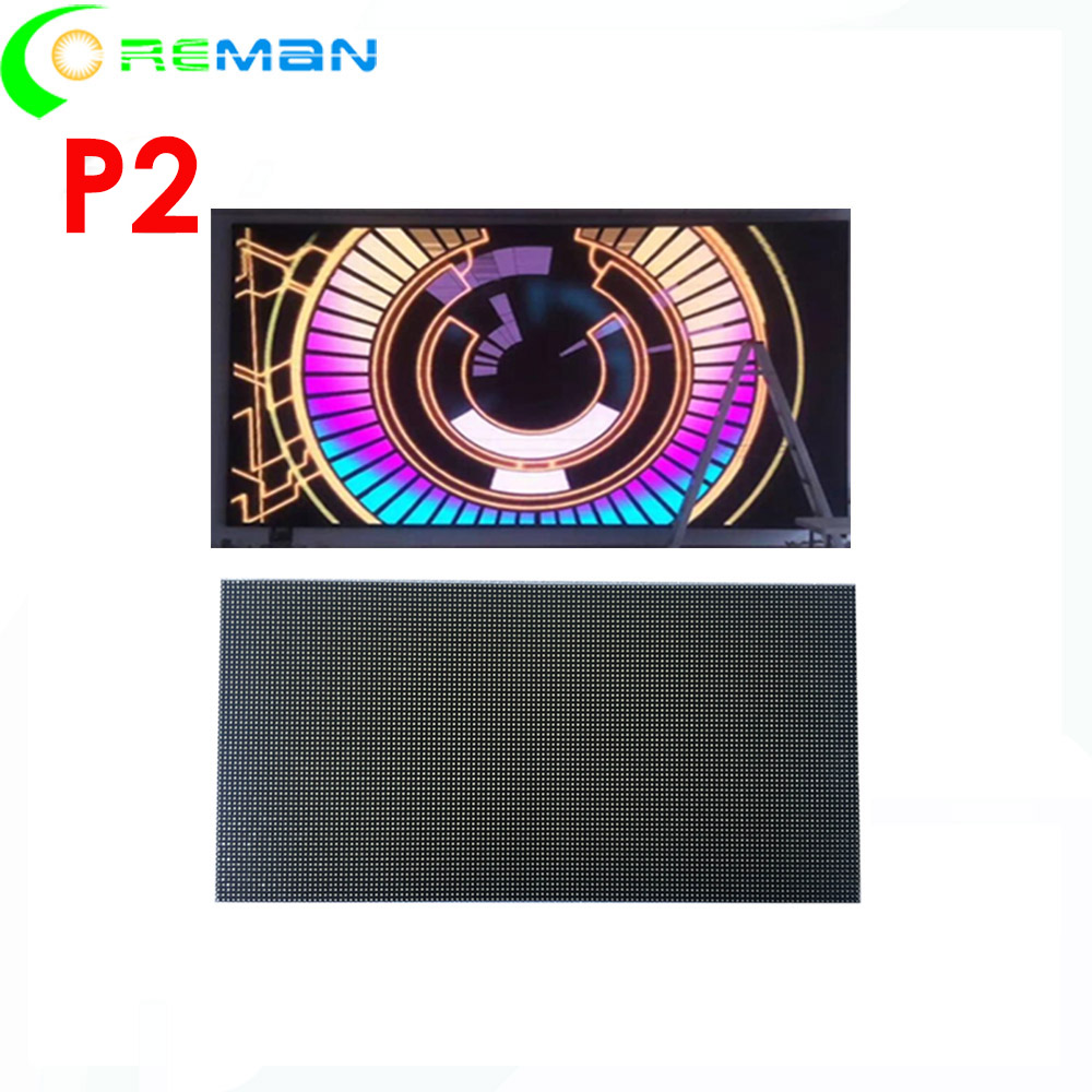 High Resolution High Refresh Led Video Wall P2 , P2 Smd Screen Module For 512x512 Led Rental Panel Cabinet , Rgb Led Matrix P2