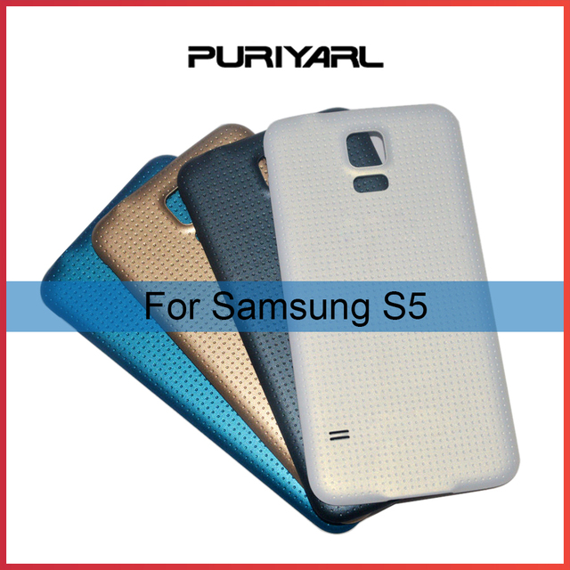 ORIGINAL Back Cover Housing For Samsung Galaxy S5 Back Cover Case Back Battery Door i9600 G900 G900F G900H G900M SM-G900F
