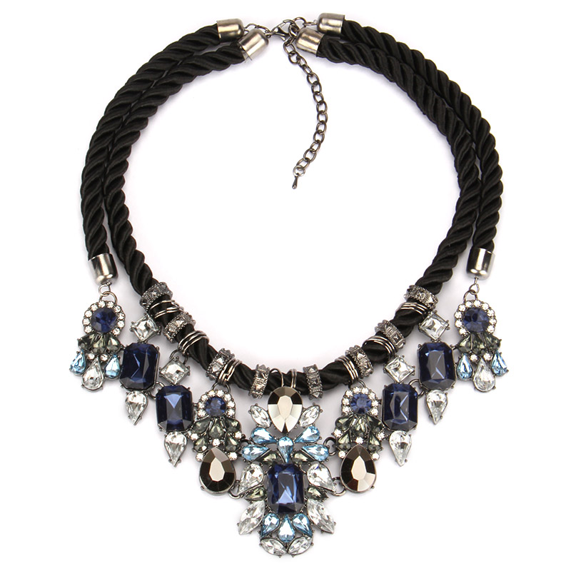 OSHUER New design Hot Sell Fashion Accessories Black Rope ...