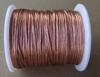 0.2x80 strands, 10m/pc, Litz wire, stranded enamelled copper wire / braided multi strand wire
