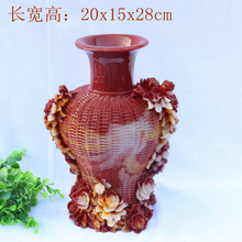 Hand engraving Artwork Jade carving landscape lotus stone Shoushan Stone Vase Decoration decoration