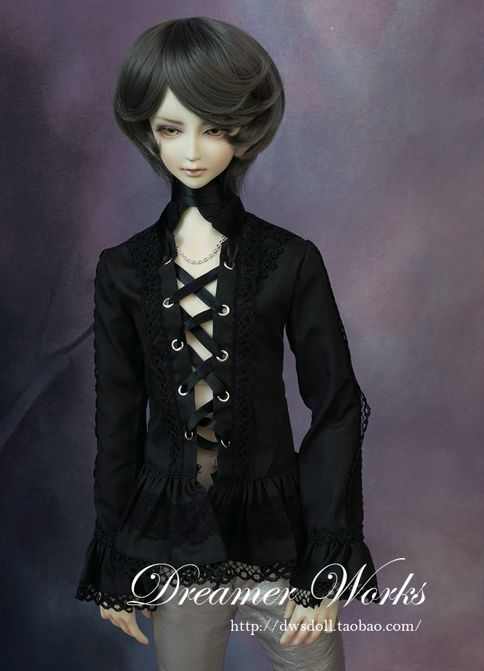 1/4 1/3 scale BJD doll clothing Lace aristocratic shirt for BJD/SD accessory.Not included doll,shoes,wig and other 17C3335