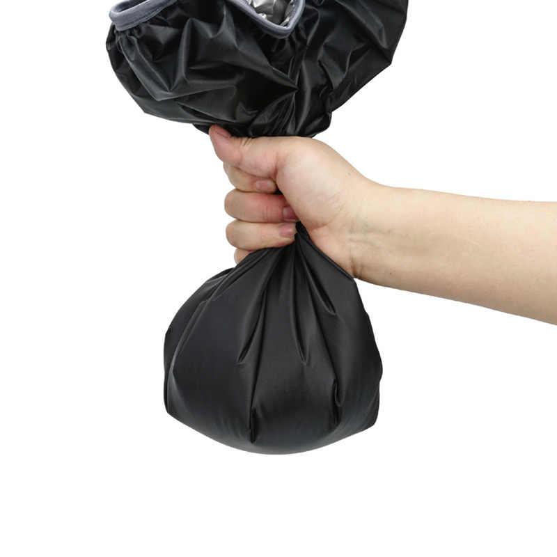 35L 45L قابل للتعديل مقاوم للماء الغبار على ظهره غطاء للمطر حقيبة كتف غطاء واق من المطر حماية في الهواء الطلق التخييم التنزه