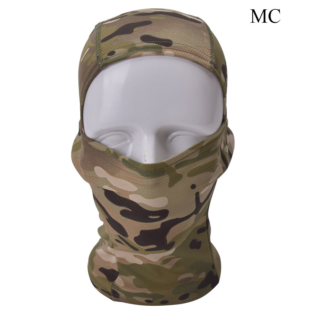 Tactical Airsoft Hunting Wargame Breathe Dustproof Balaclava Face Mask Full Hood