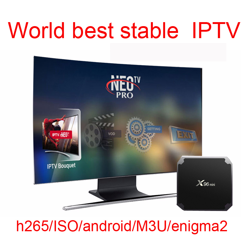 Neotv Android Tv Box Iptv Subscription French Italian Spanish Europe Portugal Albania Ex-yu Polish Iptv Code