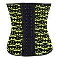 Batman látex cintura trainer mujeres fajas cinta de corte de la Correa de cintura del corsé de underbust Ropa Interior Correctiva adelgaza pérdida de peso