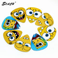 SOACH 10pcs/Lot 1.0mm bass Guitarra thickness expression child pattern guitar picks/Acoustic guitar paddle/ukulele parts