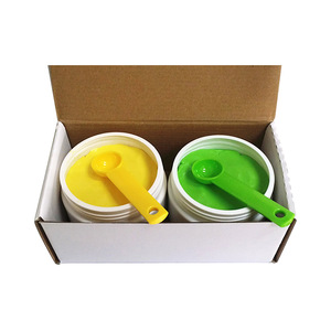Image 2 - Detax Impression Material Putty Silicone Base + Catalyst  choose from  400g*2 and  500g*2