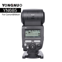 YONGNUO YN685 YN 685N Wireless HSS TTL Flash Speedlite for Canon Nikon compatible Flash Trigger YN622C TX/YN622N TX Kit Set