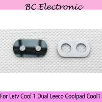 2pcs For Letv Cool 1 Dual Leeco Coolpad Cool1 Rear Back Camera Glass Lens Cover Frame