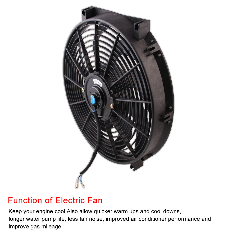 2X ELECTRIC FAN MOUNTING KIT COOL RADIATOR TIE STRAPS FOR 7/'/'10/'/' 12/'/' 14/'/' 16/'/'