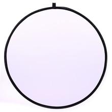 CY 43 inch 110 cm flash Translucent phản xạ Xách Tay Lắp Ráp Nhẹ Round Photography Reflector cho Studio ảnh photo Studio Đĩa